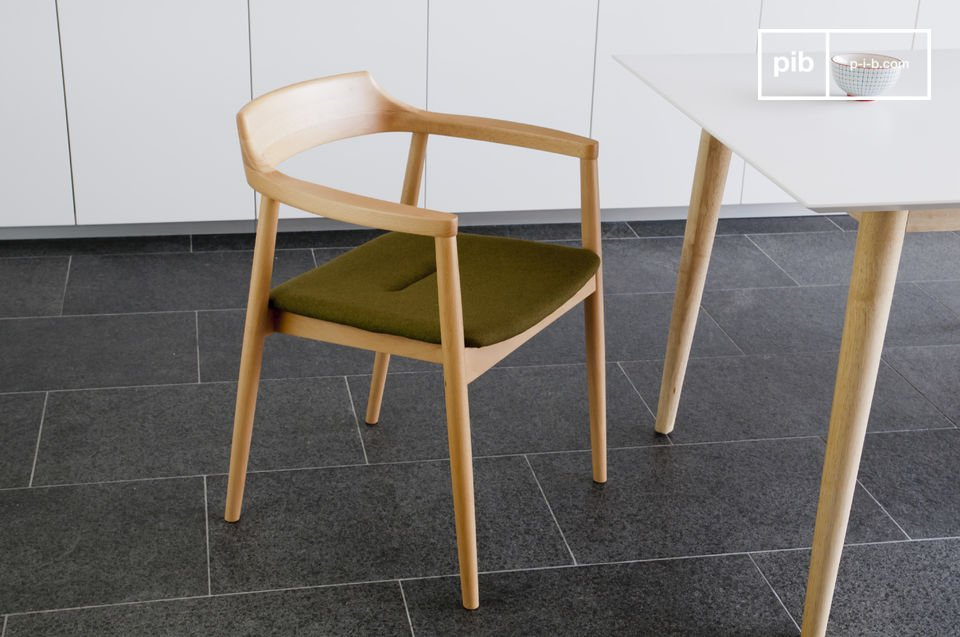 Diseño típico escandinavo con todo el estilo retro