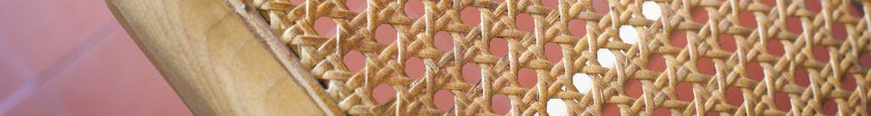Descriptivo Materiales  Sillón de bastón Thisted