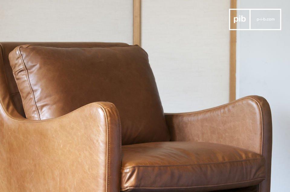 Curvas precisas, elegancia vintage y cuero de calidad