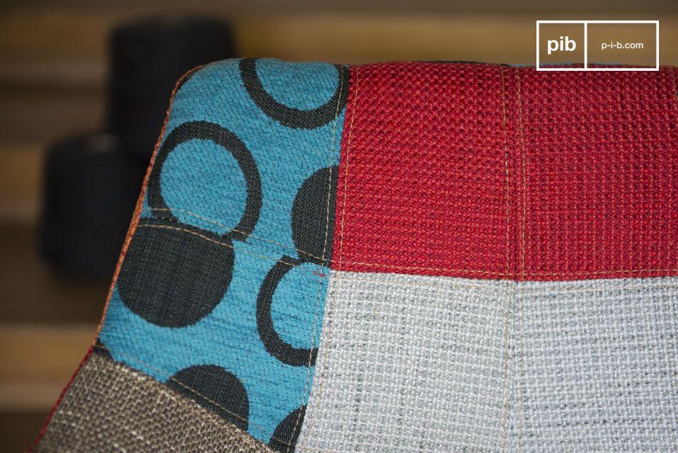 Una mezcla de color y diseño vintage