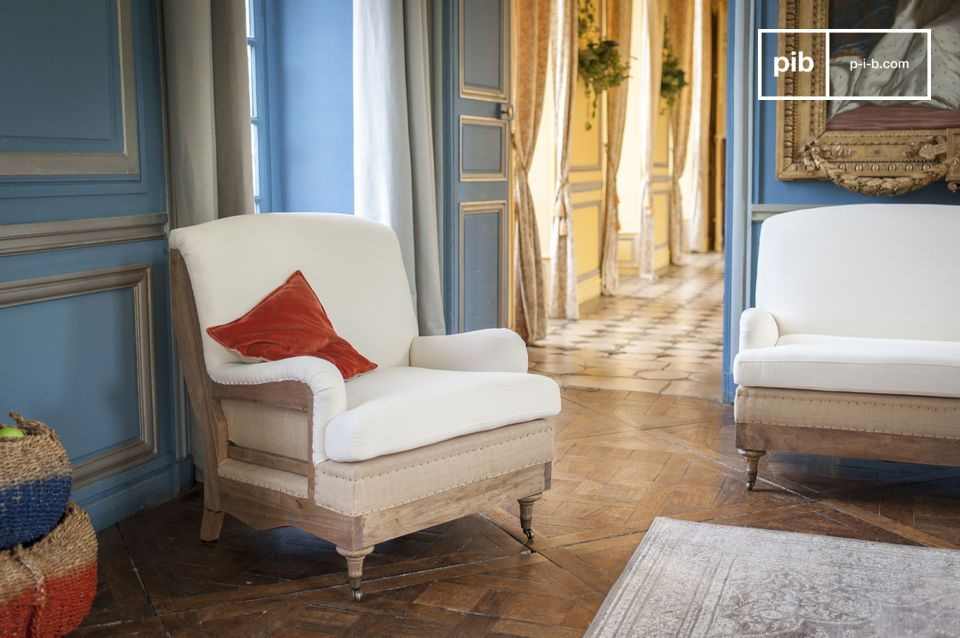 Ideal en: una habitación grande o emparejado con un sofá del mismo estilo para crear una sala de