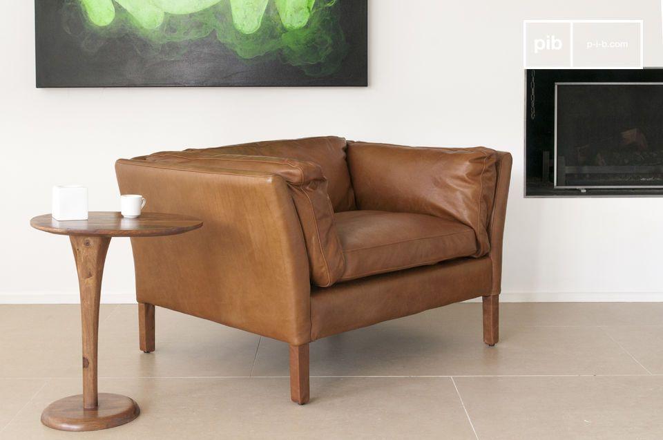 Diseño vintage, elegancia y cuero de alta calidad