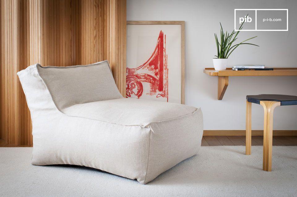 Este elegante sillón de toque italiano revolucionará su visión de las sillas ocasionales