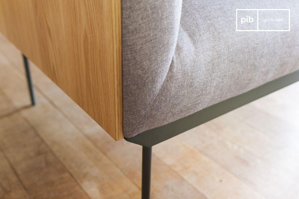 Un sillón elegante y cómodo