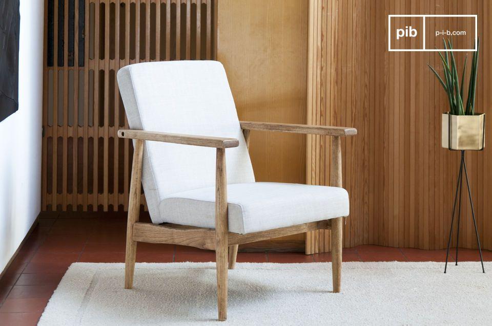 Pureza, comodidad y madera natural