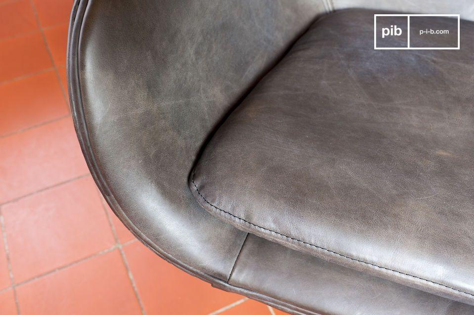 El sillón Orquestra ilustra el diseño del siglo XX con su diseño estético y su confort