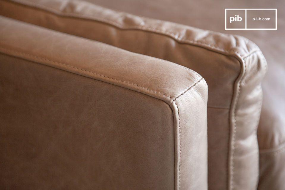 El respaldo del sofá