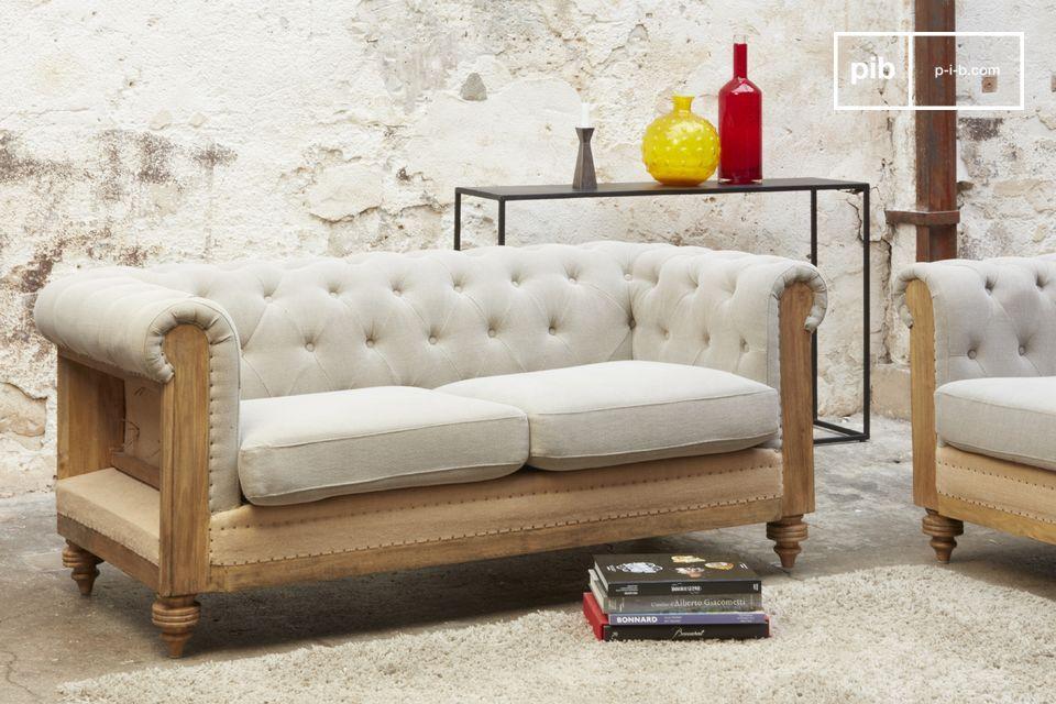 La comodidad de un sofá original, irresistiblemente retro