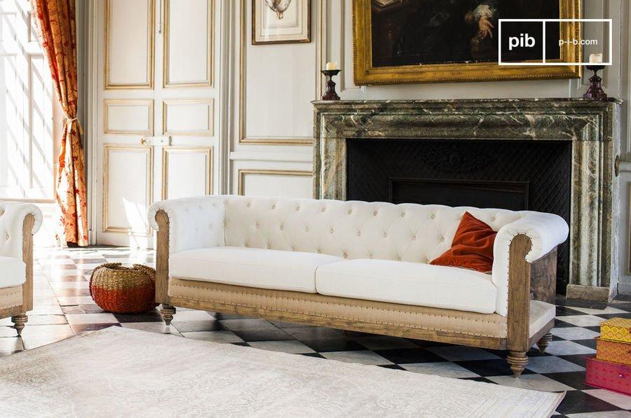 El sofa chester, el rey de los muebles industriales