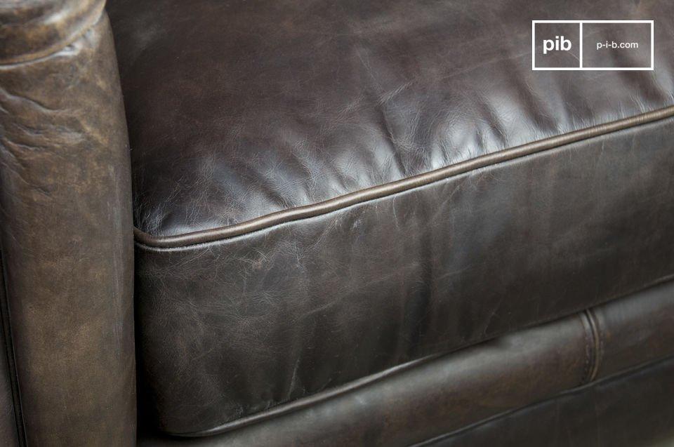 ¡Un sofá Chesterfield