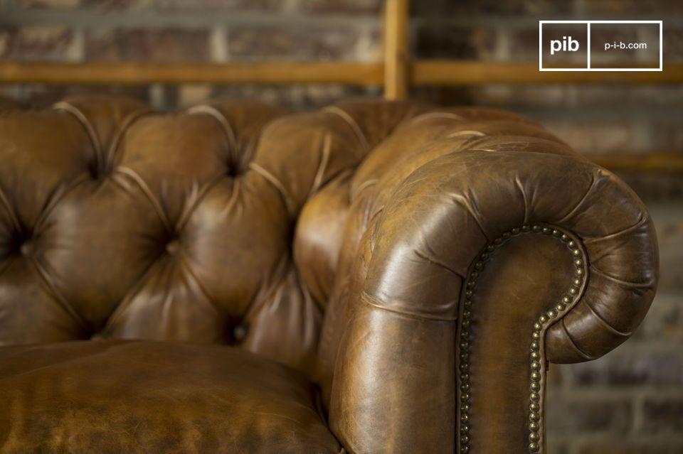 Disfruten un nivel de acabado ejemplar y un cuero único que hacen uno de los mejores sofa