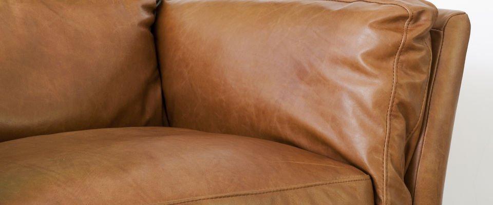 Sofá de cuero Hamar