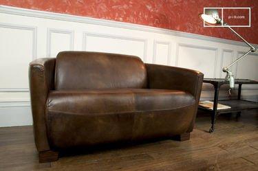 Sofá de cuero Red Baron