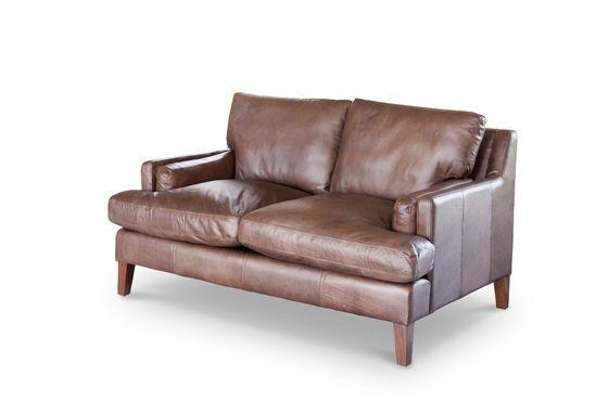 Sofá de cuero Sanary Clipped