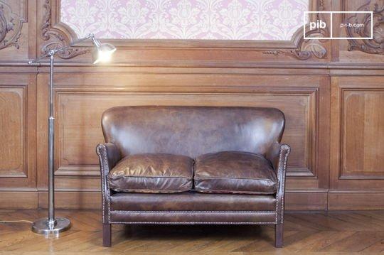 Sofá de cuero Turner