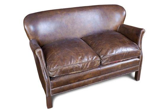 Sofá de cuero Turner Clipped