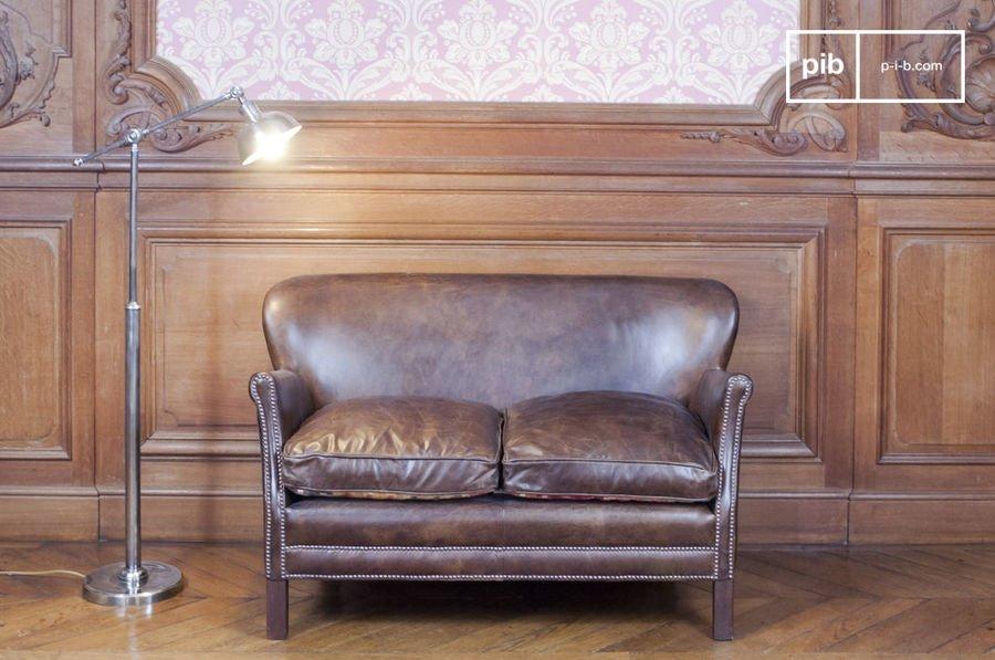 Sofa de Cuero Turner