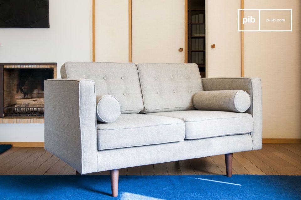 Un sofá de tela que se convertirá rápidamente en tu parte favorita del salón