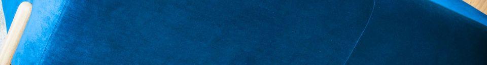 Descriptivo Materiales  Sofá de Terciopelo Viela