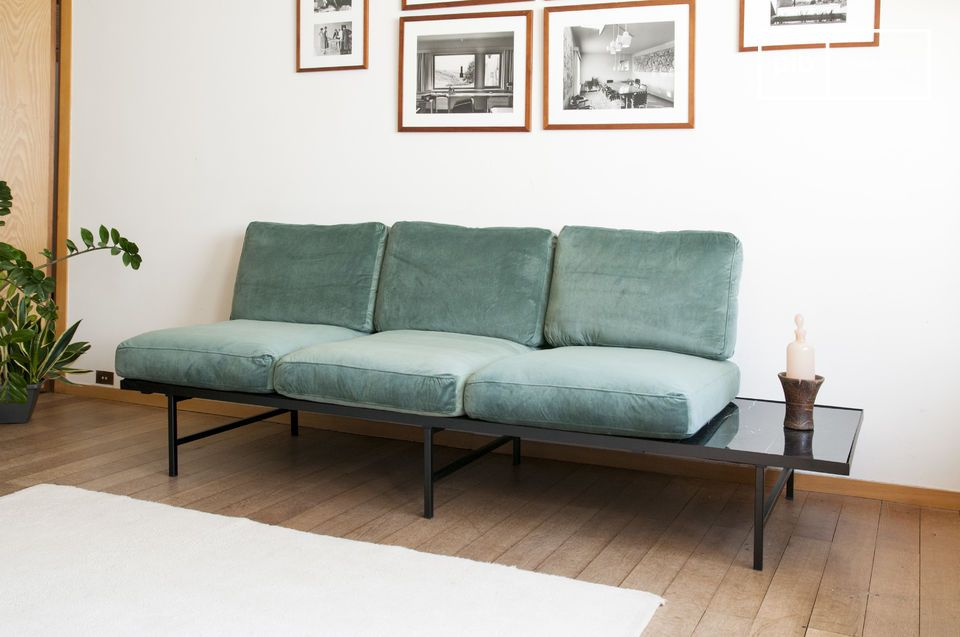 El sofá Cathy tiene un asiento profundo y cómodo