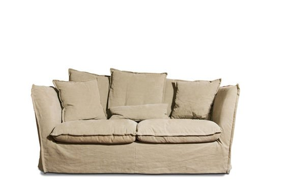 Sofa Mélodie Beige Clipped