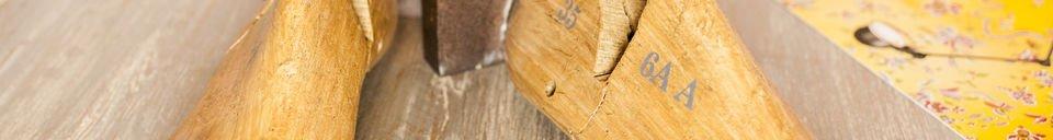 Descriptivo Materiales  Sujetalibros del zapatero
