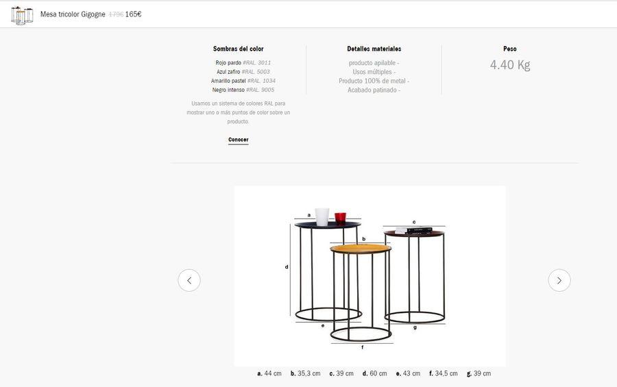 table gigogne tricolore1