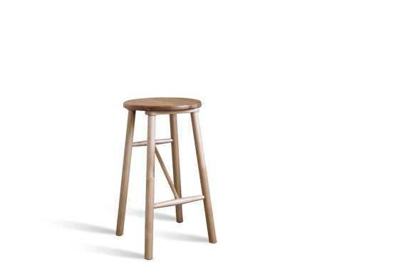 Taburete de madera Niels Clipped