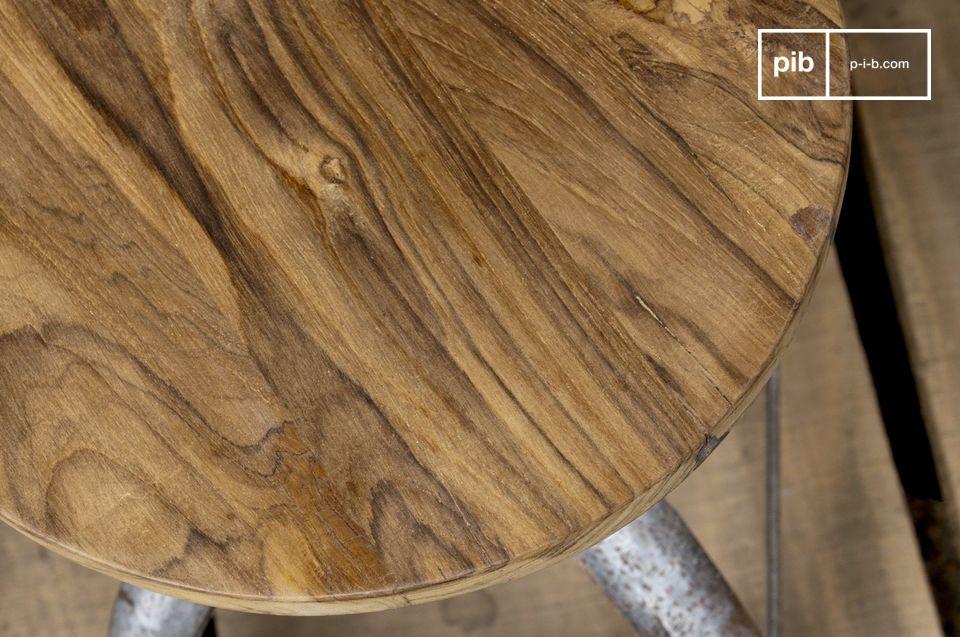 Este taburete es perfecto para añadir prestigio a una cocina o un baño