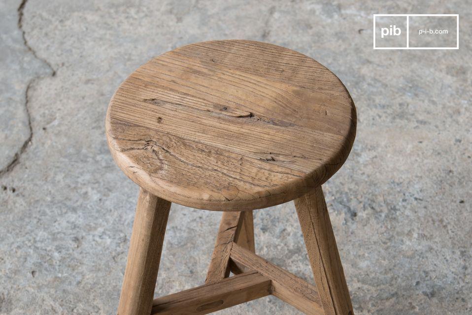 100% madera de olmo, cada pieza es única