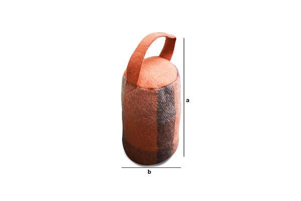 Dimensiones del producto Tope de puerta Duna