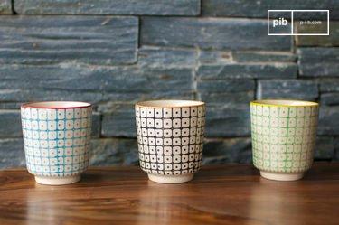 Tres tazas expresso Brunï