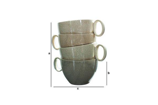 Dimensiones del producto Vaso Amelia